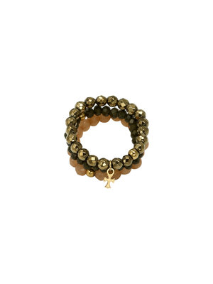 J.Y.M. Ring Beads and Charme 4