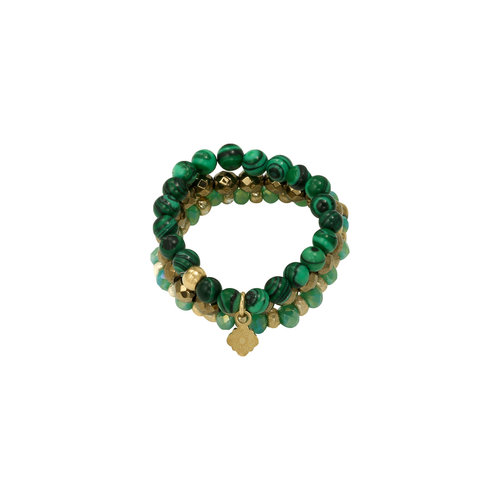 J.Y.M. Ring Beads and Charme 6