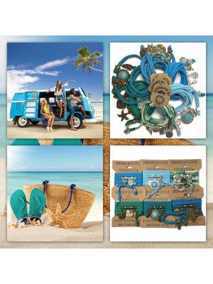 Esperanza Deseo Collor Off The Sea Bracelets & Charms Caribean Bleu