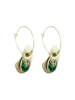 J.Y.M. Earrings Shelly Groen