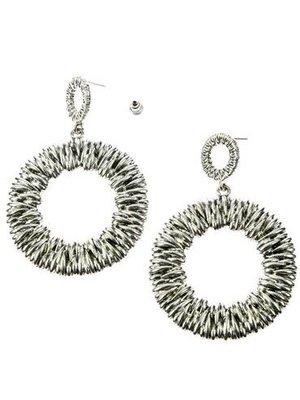 J.Y.M. Earrings Siss Silver