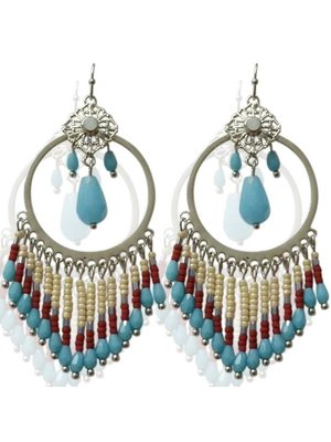 J.Y.M.  Earrings Chi Turquoise
