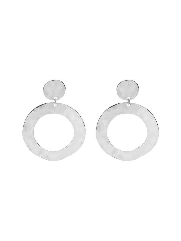 J.Y.M. Earrings Wobbles rond zilver