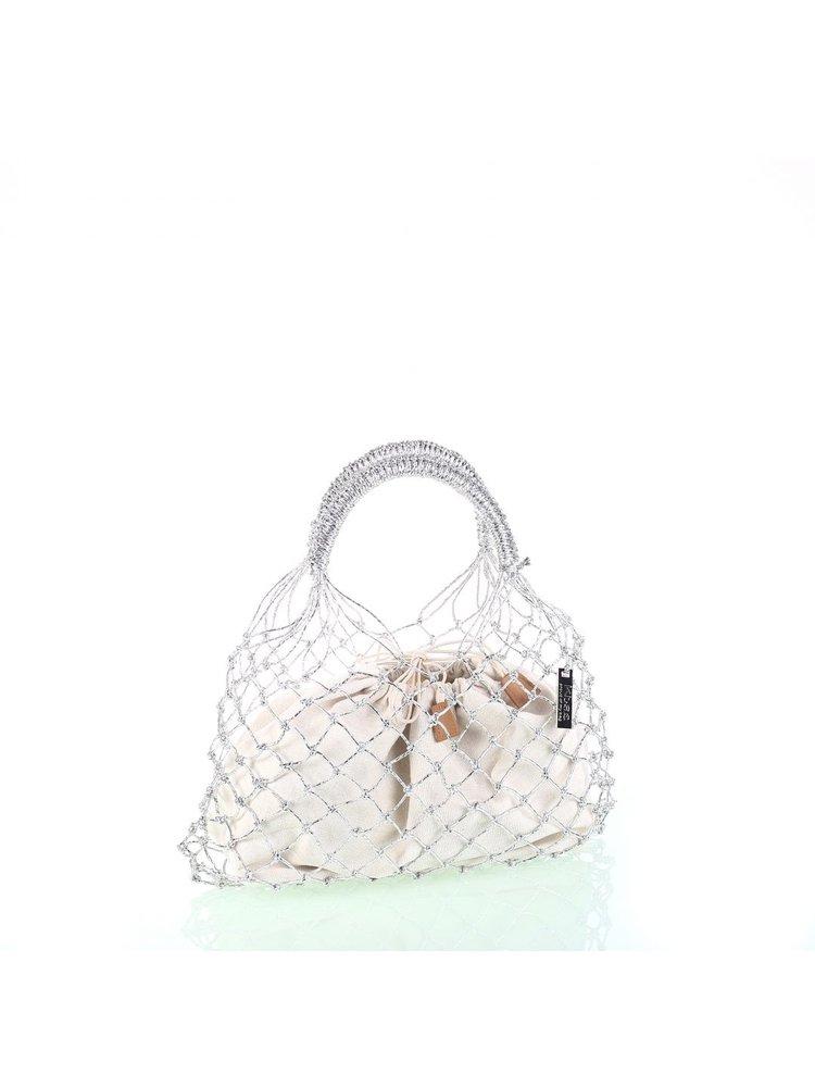 Kbas Kbas bag Coco Silver
