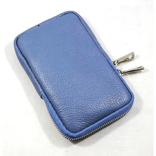 Wauw Bijoux Leren telefoon tasje Catalina Bleu