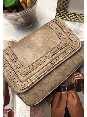 J.Y.M. Handbag Mandy Taupe
