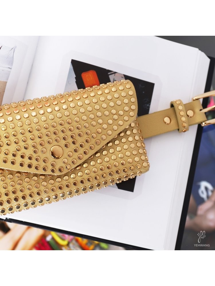 J.Y.M. Bag studs all u need  gold