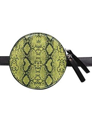 J.Y.M. Heuptasje Stylish Snake groen