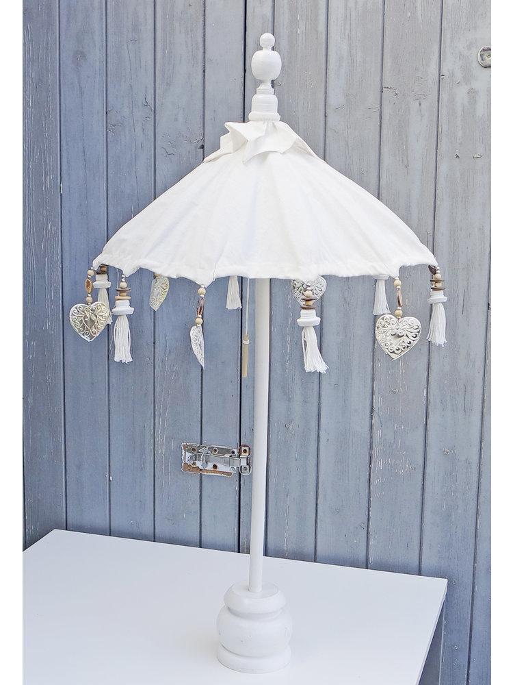 J.Y.M. Tafel parasol Wit