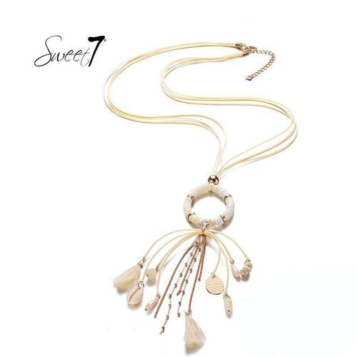 Sweet 7 Necklace Kiki White