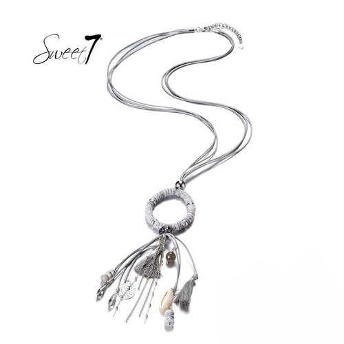 Sweet 7 Necklace Kiki  Grey