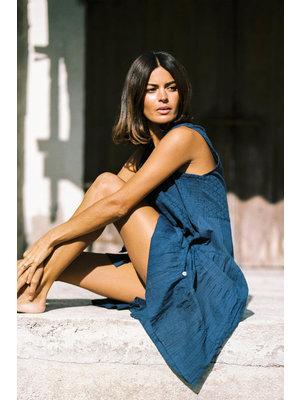 Isla Ibiza Bonita Tunic / Short Dress Indigo