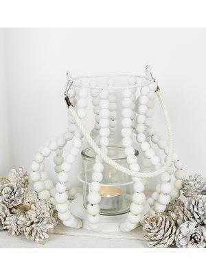 J.Y.M. Lantern Wooden Beads