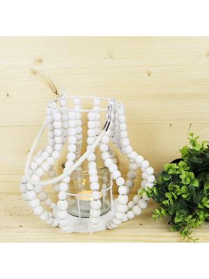 J.Y.M. Lantaarn Wooden Beads