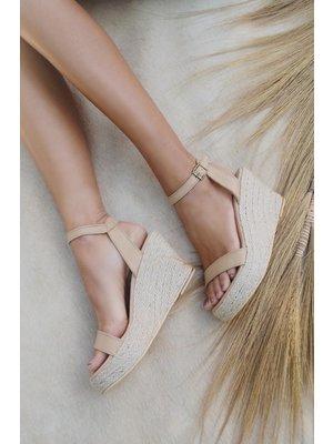 Hot Lava Sandals Lanai Naturel
