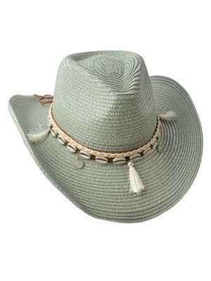 J.Y.M. Zomer hoed Groen