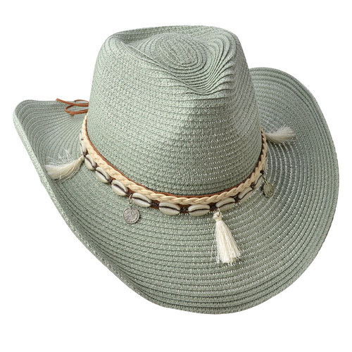 J.Y.M. Summer hat Green