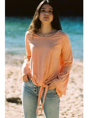 Isla Ibiza Bonita T- Shirt Long Sleeve Orange