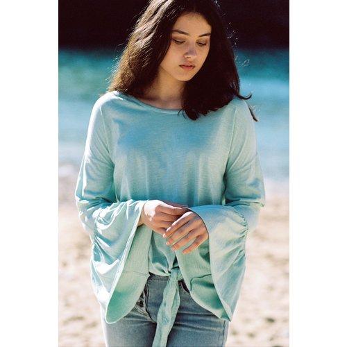 Isla Ibiza Bonita T- Shirt Long Sleeve Sea Green