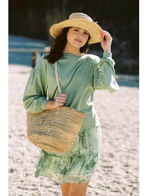 Isla Ibiza Bonita Sweater Antique Green