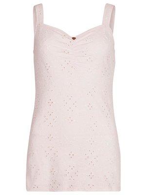 Isla Ibiza Bonita Embroidery Singlet Romantic – Pink