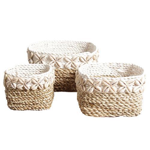 J.Y.M. Shell Basket Set