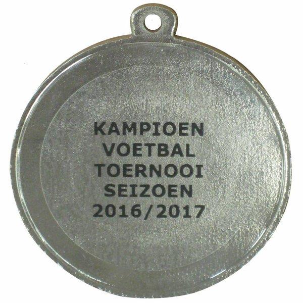 Budgetmedaille 1860 Ø 50 mm.