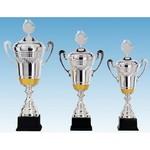 Trofee Verona zilver-goud met oren
