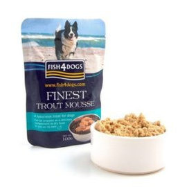 fish4dogs Finest Trout Mousse for Dogs 100g