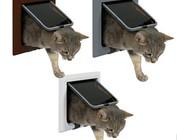 Kattenluiken handmatig