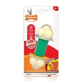 Nylabone Power Chew Double Action met Baconsmaak maat S