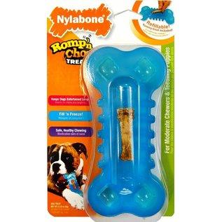 Nylabone Romp 'n Chomp Freezer Bone with Treat groot