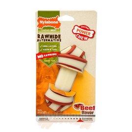 Nylabone Power Chew Rawhide Alternatief knoop maat M
