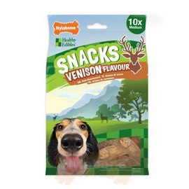 Nylabone Healthy Edibles Snacks Medium Venison Flavor 10 st.