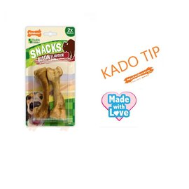 Nylabone Healthy Edibles Snacks Medium Bison Flavor  2 st.