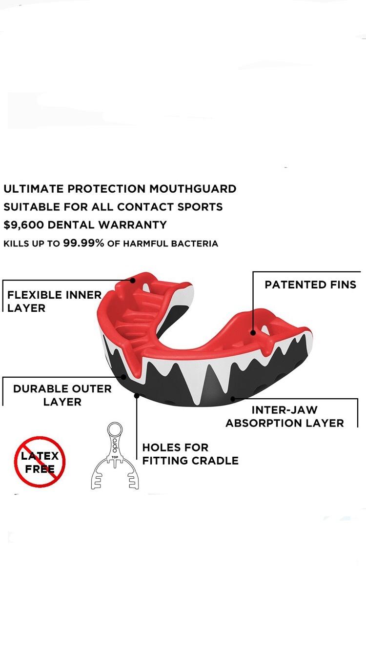 OPRO Platinum Fang gebitsbeschermer
