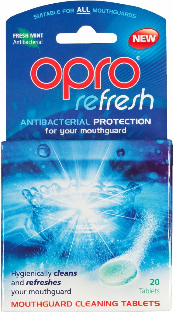 OPRO Refresh Reinigingstabletten