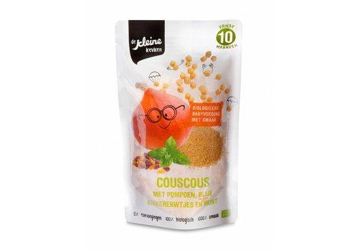 Biologischer Couscous mit Kürbis