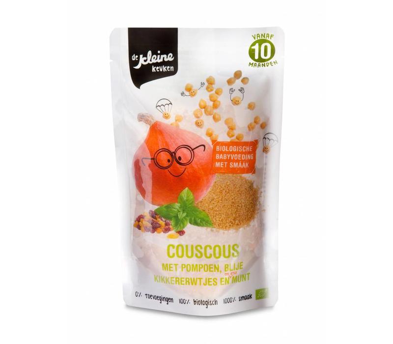 Biologischer Couscous mit Kürbis 10 Monate