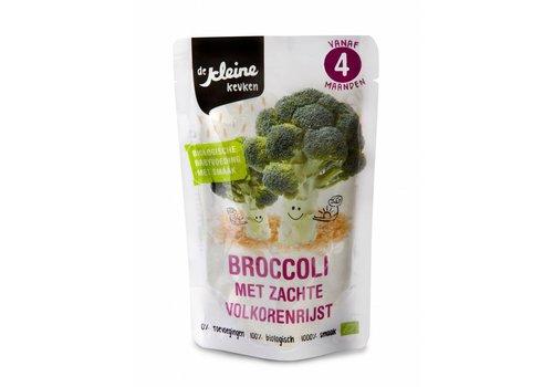 Biologisches Brokkoli Gericht