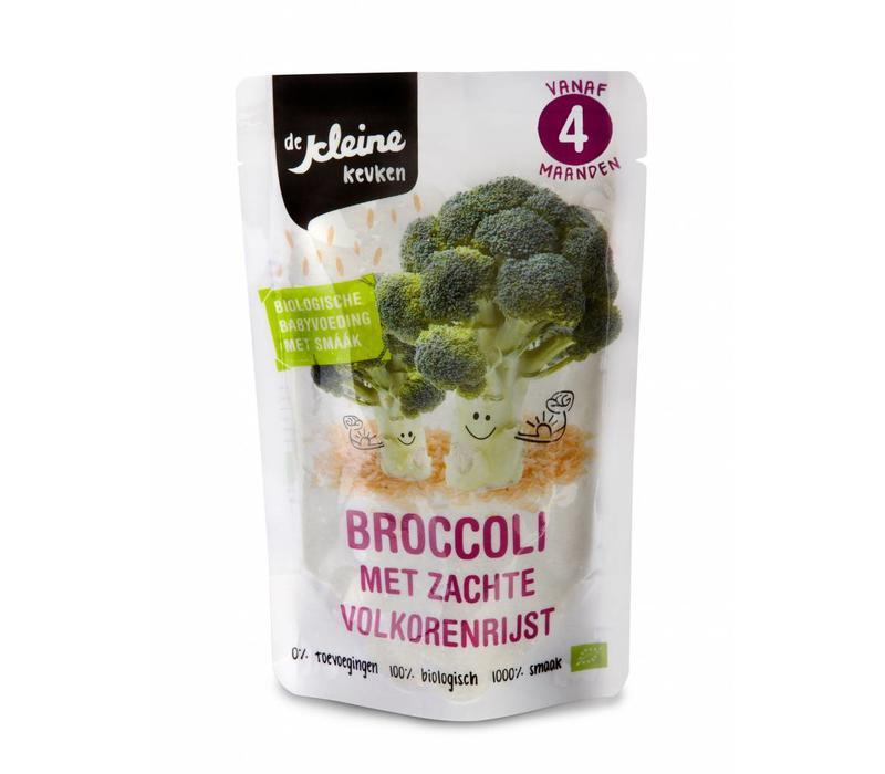 Biologisch Broccoli hapje 4 mnd