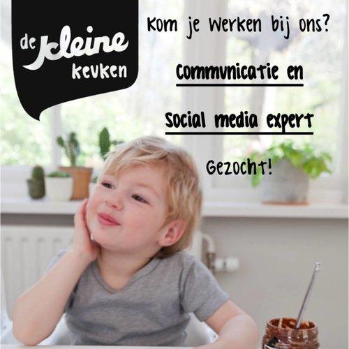 Vacature social media & communicatie expert