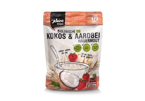 Biologische Kokos & Erdbeer-Haferflocken