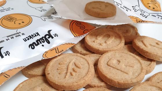 De biologische koeken van de Kleine Keuken zijn veilig en verantwoord
