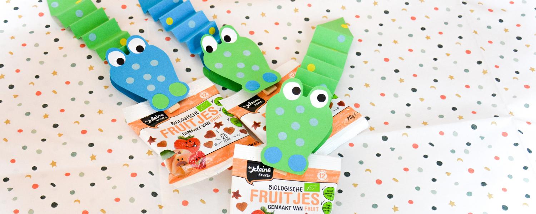 Verantwoorde traktatie tip: Krokodil Fruitjes!