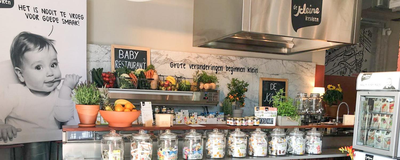 Het eerste babyrestaurant van Nederland is geopend!