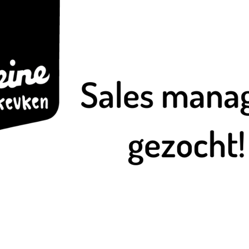 Sales Manager gezocht!