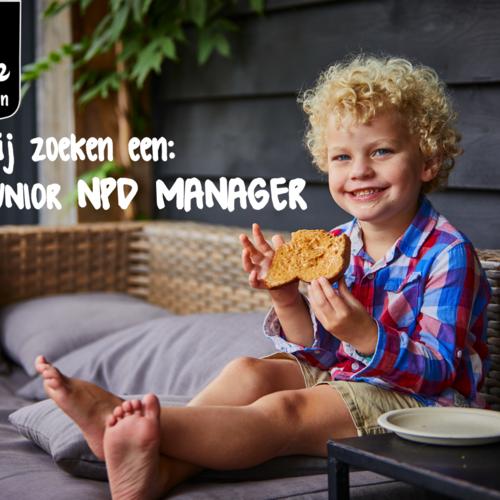 Junior NPD manager gezocht!