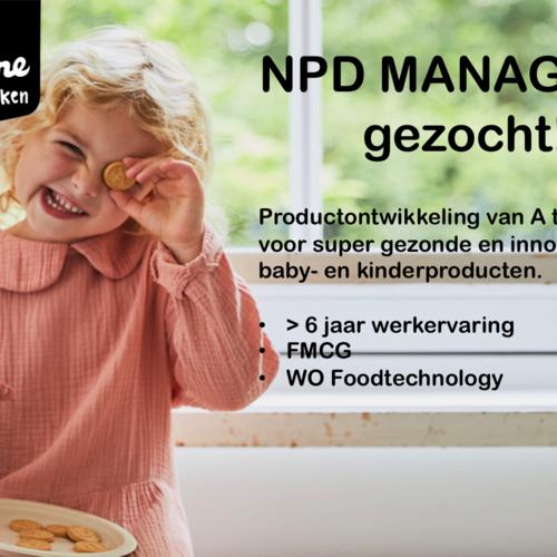 NPD Manager gezocht!