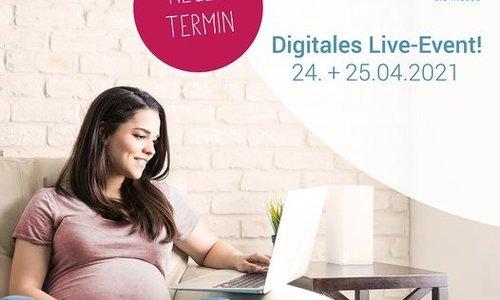 Wir sind dabei - die erste digitale Babywelt Messe